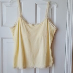 Banana republic camisole with shelf bra.